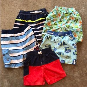 Boys toddler bathing suits size 2T